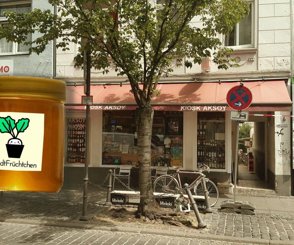 StadtFrüchtchen-Honig im Aksoy-Kiosk, Bonn